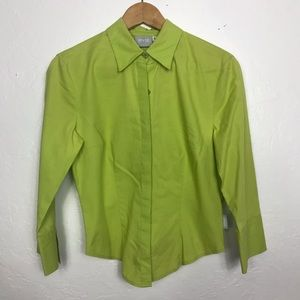 Versace Jeans Couture Green Women's Shirt Size S